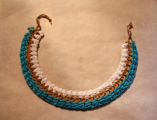 Alba -crochet necklace- to buy: http://blomming.com/mm/Aromantiche/items/alba-crochet-necklace?view_type=thumbnail