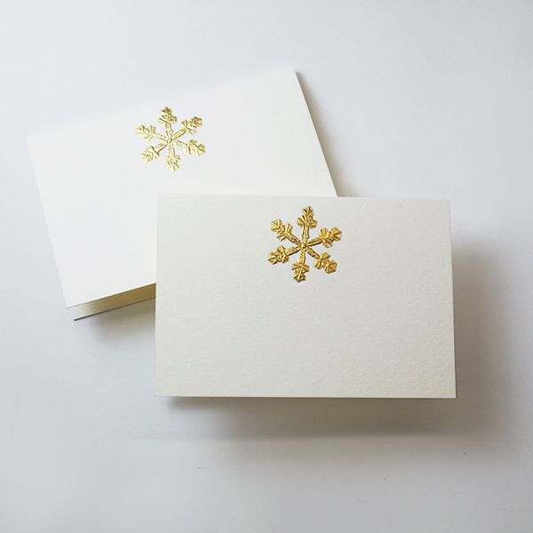 Snowflake Place Cards - Mrs. John L. Strong Fine Stationery and Gifts