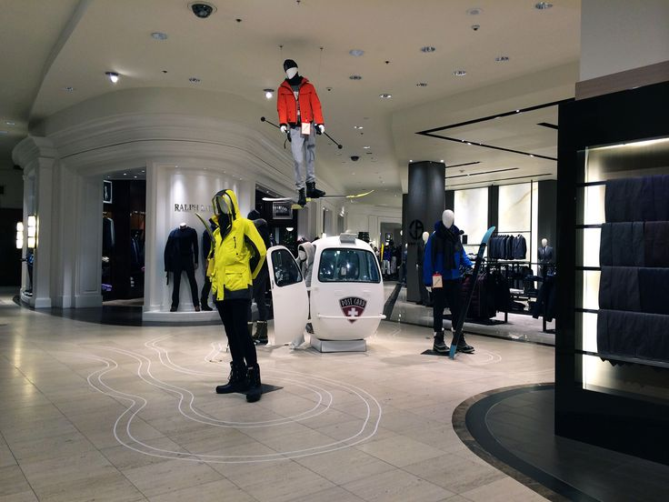 Menswear At Saks Fifth Avenue In New York Retail Interior Design And Merchandising