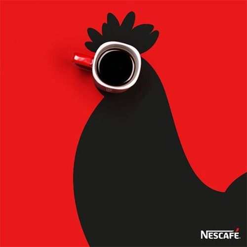 Let Nescafe be the first thing to wake you up!