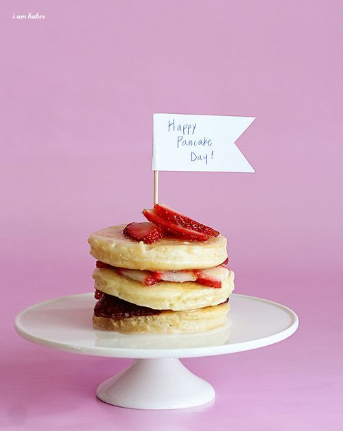 Happy pancake day! ;)