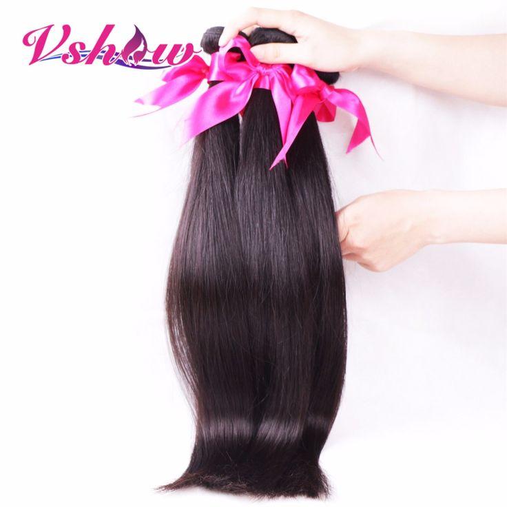 Малайзийские Виргинские Волосы Прямые 3 Связки Малайзии Прямые Волосы 8А Прямо Девы Волос Малайзии Человеческих Волос Прямые Пучки