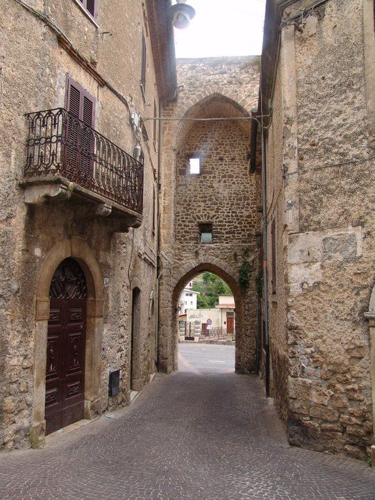 Vico nel Lazio (FR), scorcio