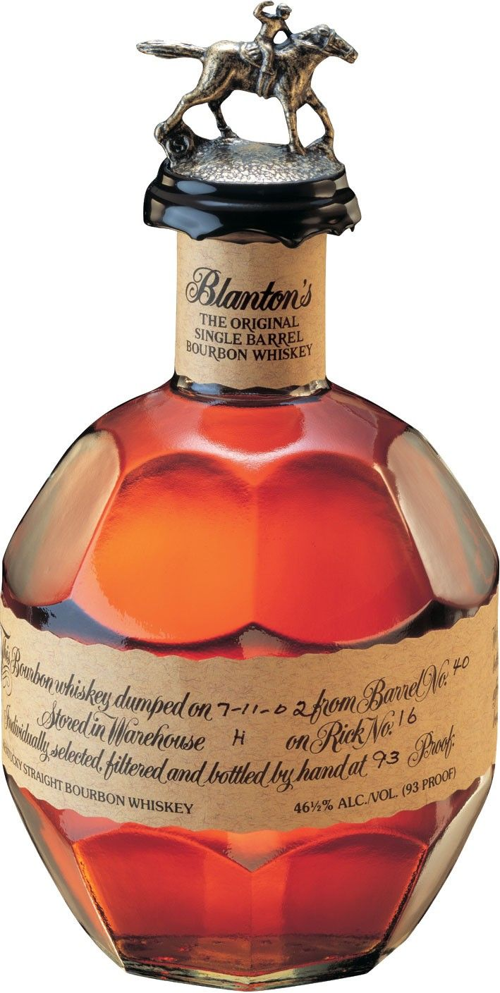Blanton's Original Single Barrel Bourbon #Whiskey.  This #bourbon scored three points higher than Pappy Van Winkle's 23YO Bourbon at the Ultimate Spirits Challenge in 2012. | @Caskers