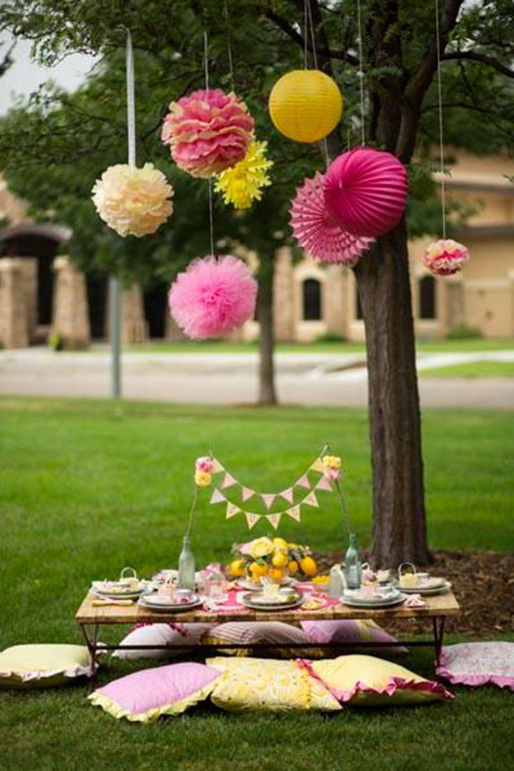 festa piquenique-rosa amarelo