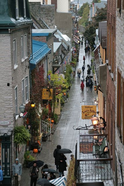 Quebec City, Quebec...been there, such a lovely place