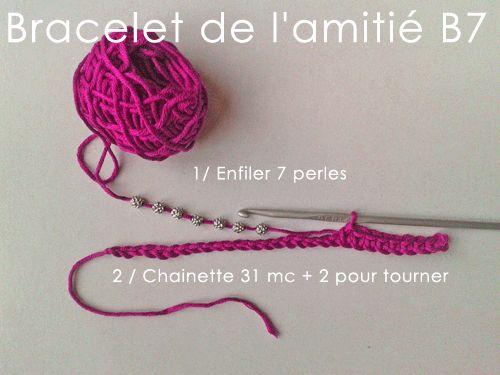 17 meilleures id es propos de crochet bracelet tutorial - Comment faire un bracelet avec des boutons ...