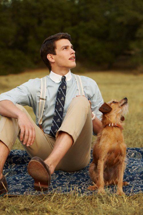 eeek suspenders!: Men S Fashion, Style, Guy, Mens Fashion, Mensfashion, Dog, Boy, Man, Friend