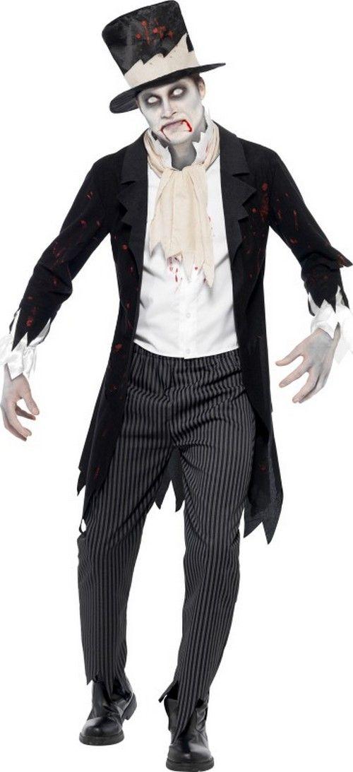 Déguisement zombie gentleman homme Halloween : Deguise-toi, achat de Déguisements adultes