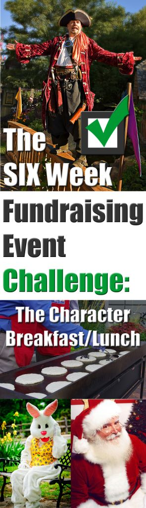 You CAN host a profitable fundraising event in JUST 6 weeks. Here's how!