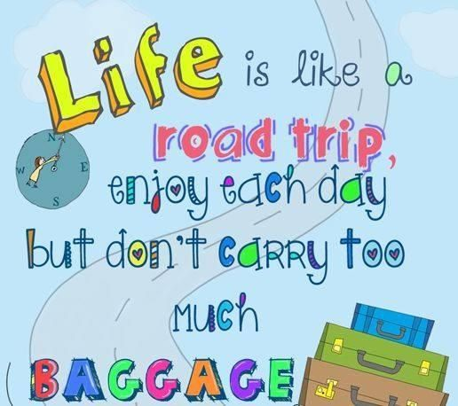Life Is A Road Trip Motivational Pinterest