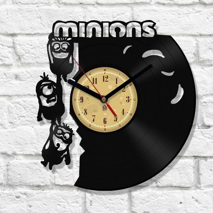 Vinyl Clock - Minions