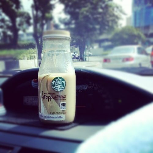 #Starbucks along the way