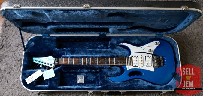Ibanez Jem 7VSBL 2003 MINT condition for sale on sellmyjem.com! Already sold.... sorry, you can sign up to get notified before the public!