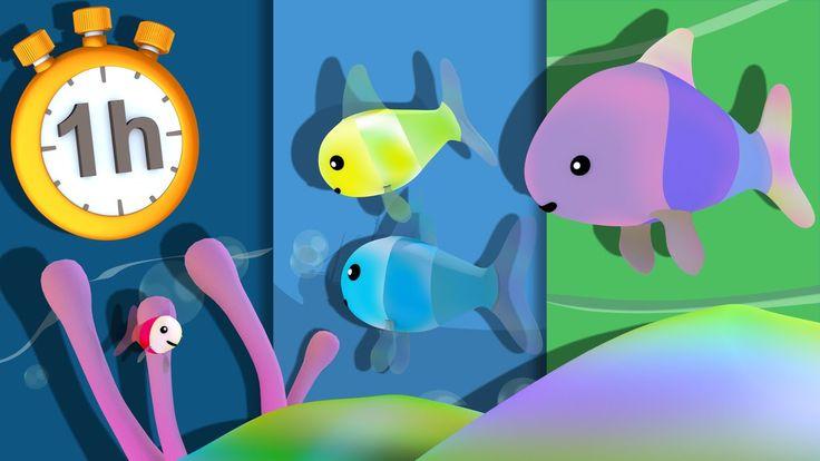 Les Petits Poissons dans l'eau et autres Comptines avec Paroles
