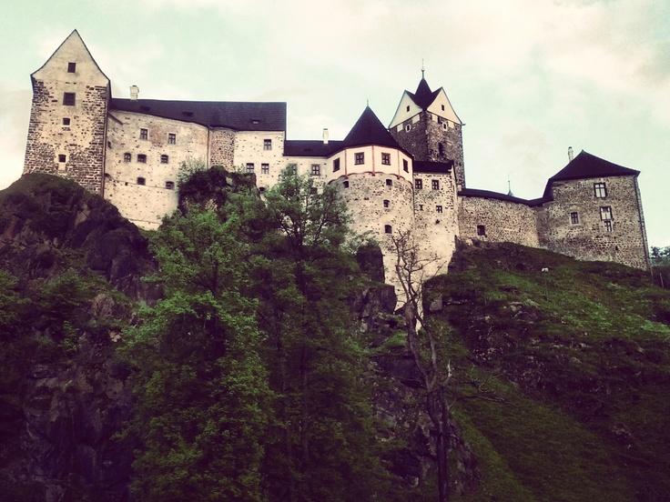 Loket Castle (CZ) (loket = elbow)