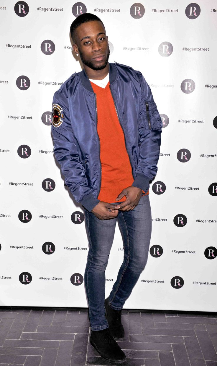 Troy Thomas in the latest @Superdry. collection as part of Instnat Glam on #RegentStreet.