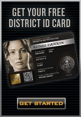 Here at CafePress, we made our own District ID card in anticipation for The Hunger Games. We ended up being neighbors with Katniss and Prim! What district are you in?