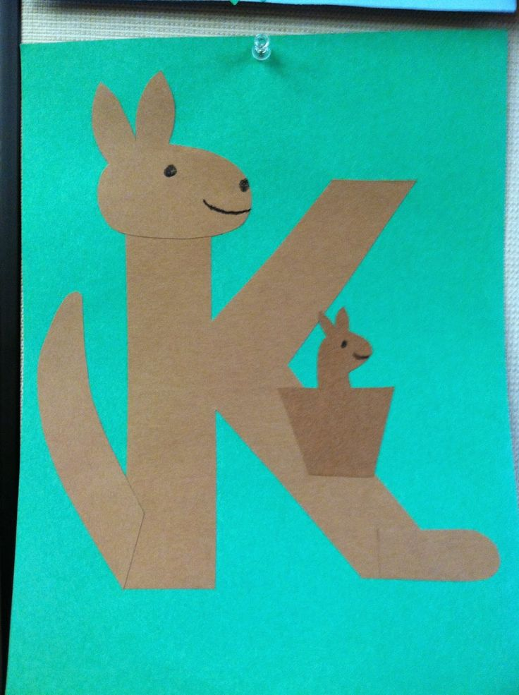 The Lion is a Bookworm: Storytime: K is for Kangaroo