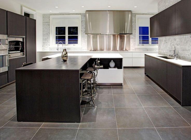 Modern Kitchen Flooring Ideas 20 gray floor design ideas | home design, interior decorating