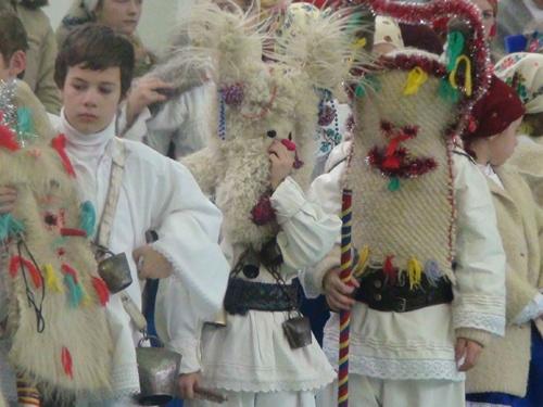 Traditional Romanian Mask. Folklore