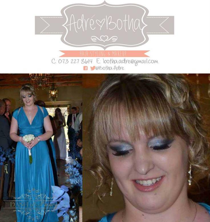 Bridesmaid blue