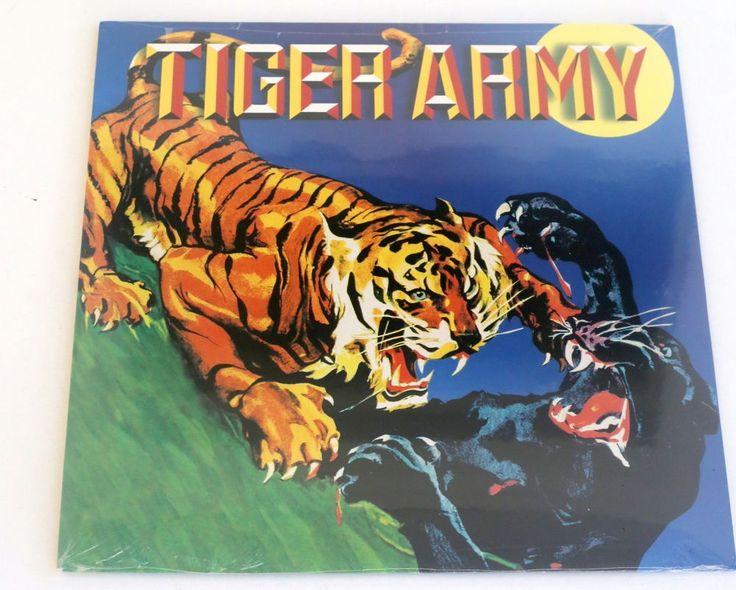 TIGER ARMY s/t LP Record SEALED vinyl w/ tim armstrong and afi , hellcat records #punkPunkNewWaveRockabillyPsychobilly