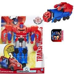 Hasbro Transformers Robots In Disguise 3Step Change Figure - Optimus Prime (C0642)