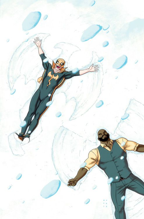 Power Man and Iron Fist Snow Angels - Kristafer Anka