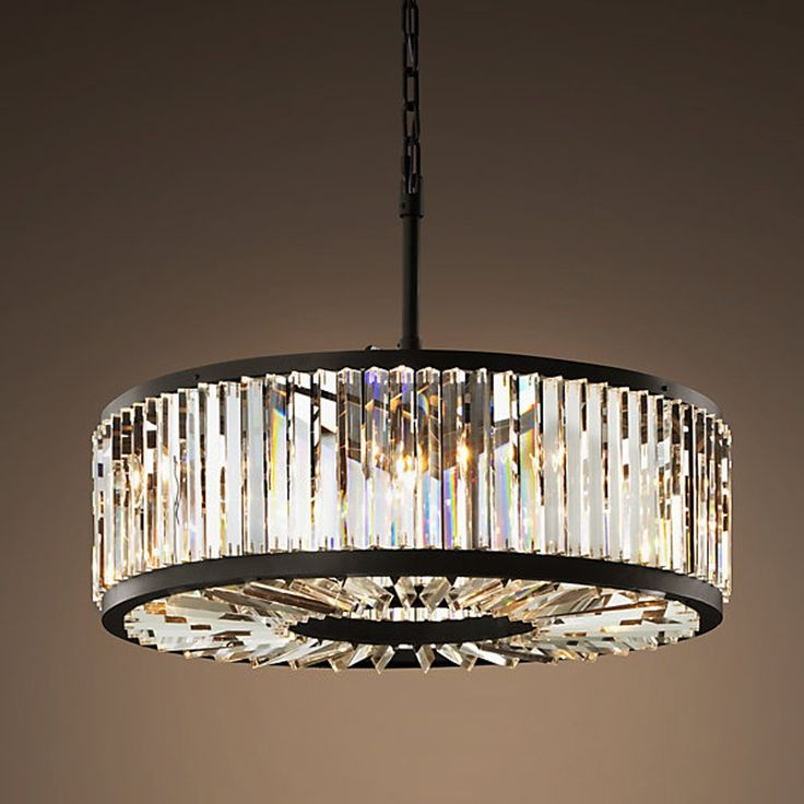171.50$  Buy here - http://aliuyx.worldwells.pw/go.php?t=32705729074 - Loft Modern Crystal Chandelier Light for dining room led crystal chandeliers round lamp crystal K9 E14 pendant Lamp Lighting