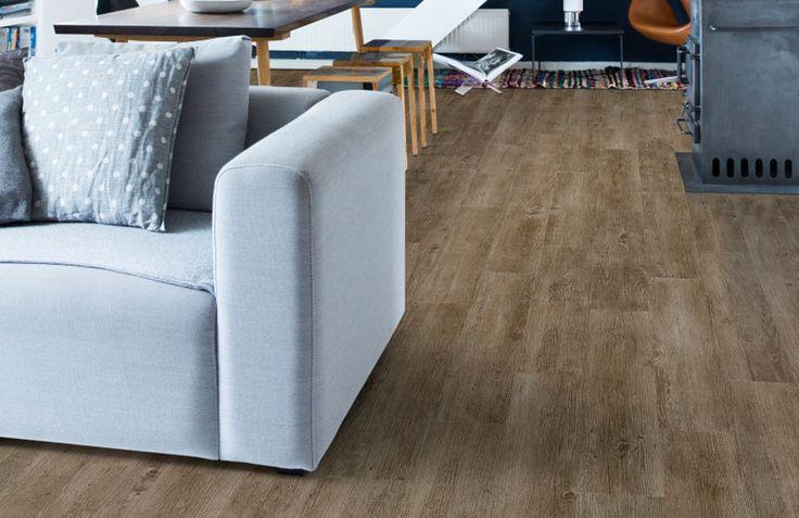 Home plus Fix - Forest pecan: Pvc click laminaat vloer (832) € 24,95  / m2 (incl. BTW)