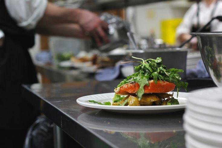 Plated Dinner Menu - Salmon 1609 Restaurant & Lounge | Food Photos
