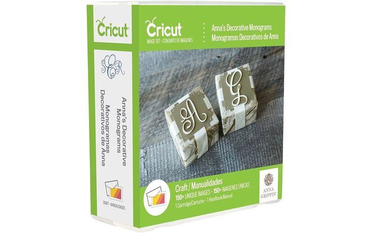 Provo Craft 2002860 Anna's Decorative Monograms Cricut Shape Cartridge Multic...