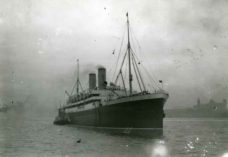 The Empress of Ireland sunk in the St Lawrence River near Rimouski, Canada