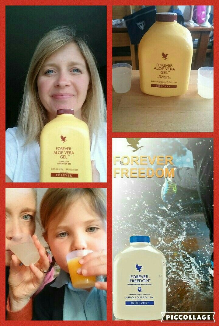 Forever Freedom makes a great change from Aloe Vera Gel - especially if you're suffering joint problems or aches and pains!