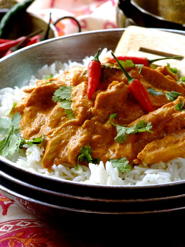 Chef Wendy's truly delicious Indian Butter Chicken.  #KnorrStockPot #curry #curries