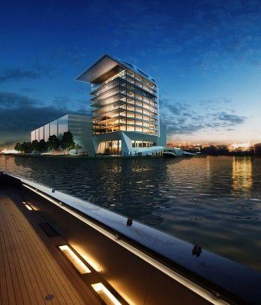 MVSA Architects ontwerpt kantoor Calvin Klein - Architectuur.nl