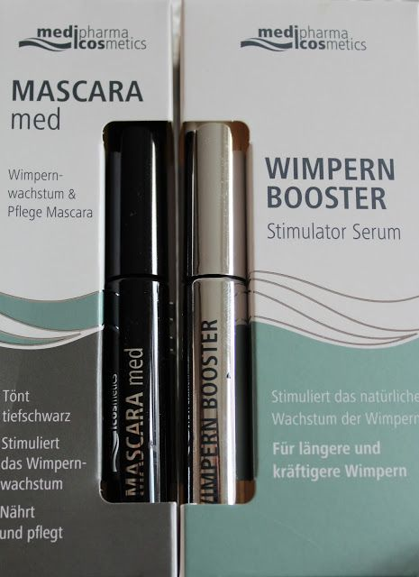 Ladylike - but never old-fashioned: Produkttest Wimpern Booster und Mascara Med von medipharma cosmetics