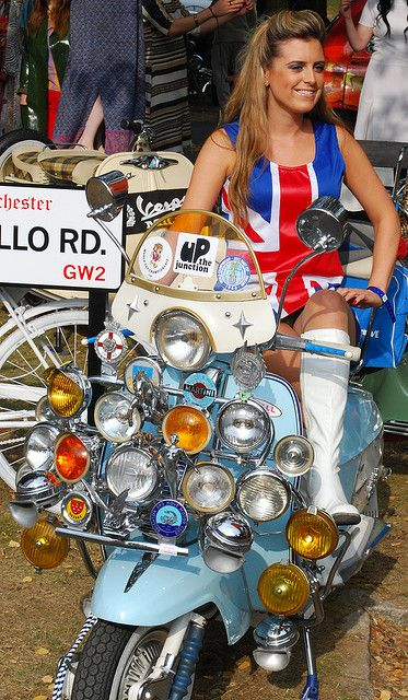 Scooter British girl............