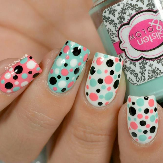 21 Nice Nails Designs with Cute Dots - Best 20+ Nice Nail Designs Ideas On Pinterest Classy Nails