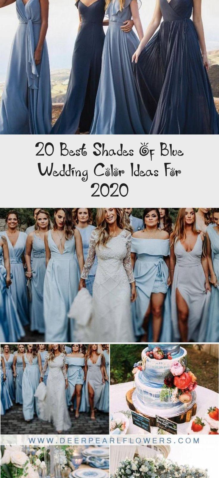 mismatched blue bridesmaid dresses 5 #wedding #weddings #weddingideas #blueweddings #deerpearlflowers