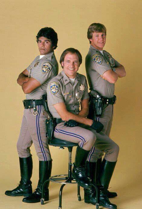 Erik Estrada, Larry Wilcox, Robert Pine(CHIPS)   LA ...
