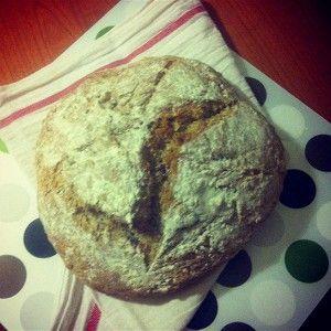 Бездрожжевой хлеб на кефире с грецкими орехами рецепт – выпечка и десерты. «Афиша-Еда»