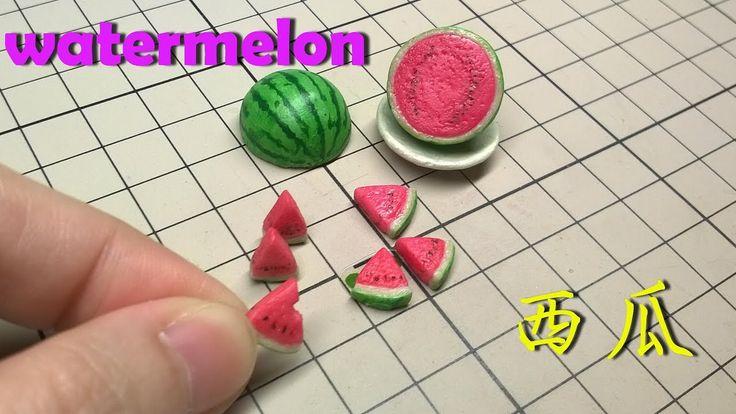 tutorial: miniature watermelon