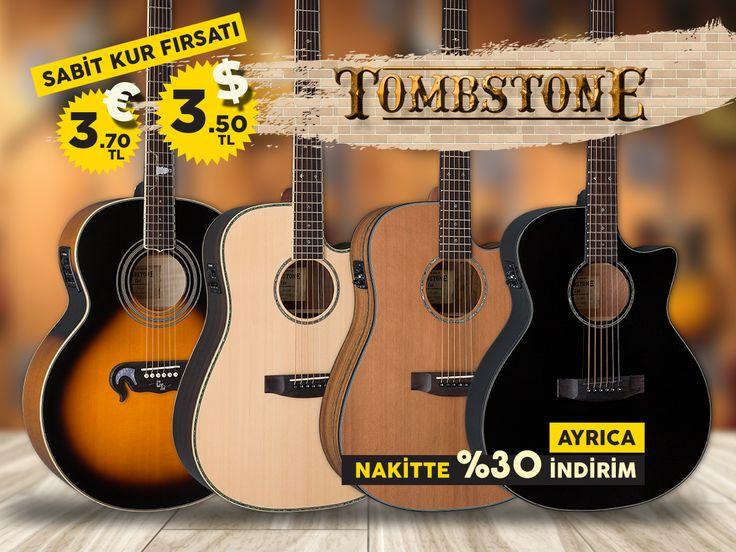 Şimdi müzik yapma zamanı! ESP Guitars - Tombstone akustik gitarlar tam bir fiyat-performans enstrümanıdır 💀 ⚡ 1enstruman.com/kampanyalar