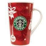 Starbucks Christmas Coffee Mug. How could you not LOVE  their Christams stuff!!!