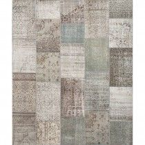 Vintage Patchwork Teppe - 250 x 300 cm