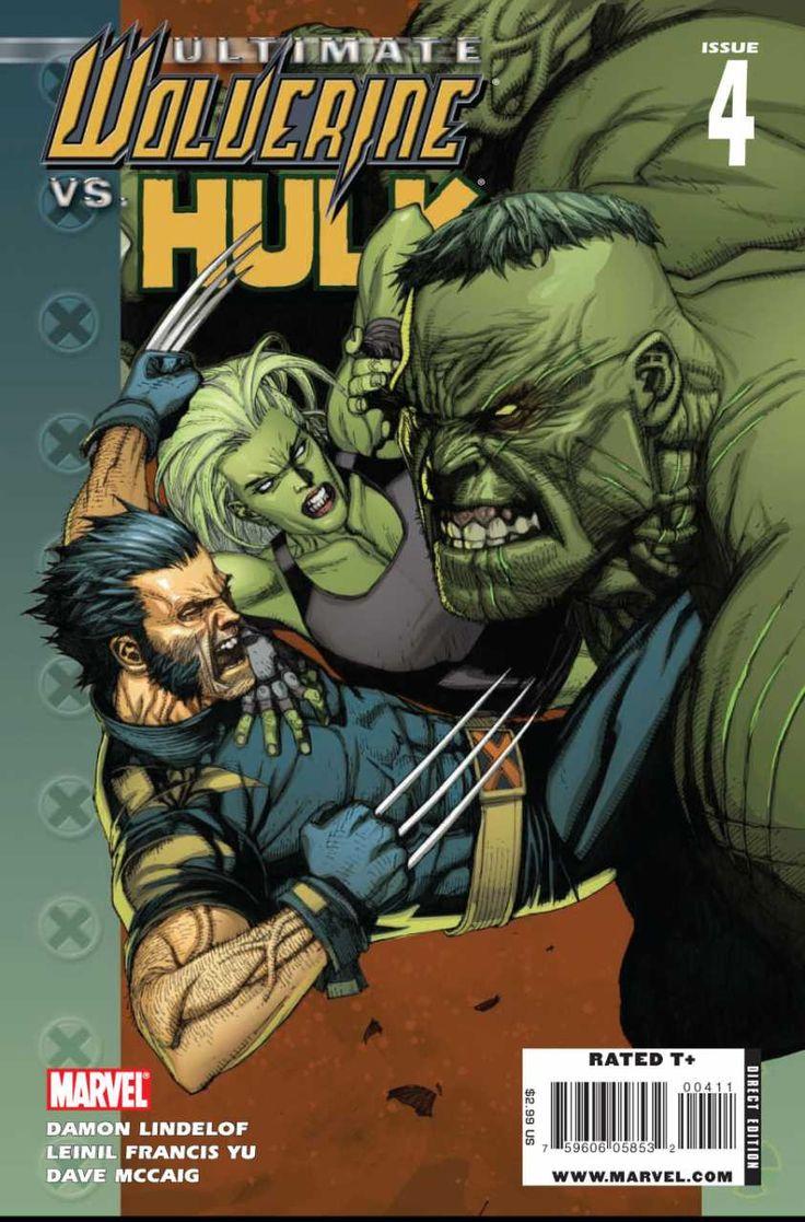 Marvel Ultimate Wolverine vs Hulk #4