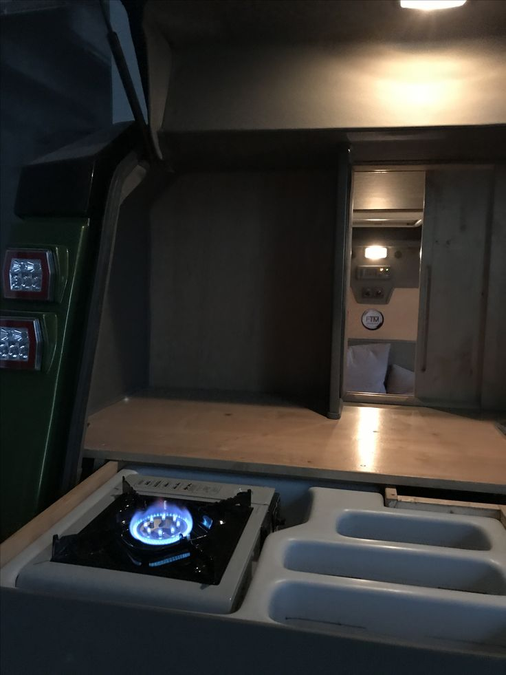 Trailer kitchenette