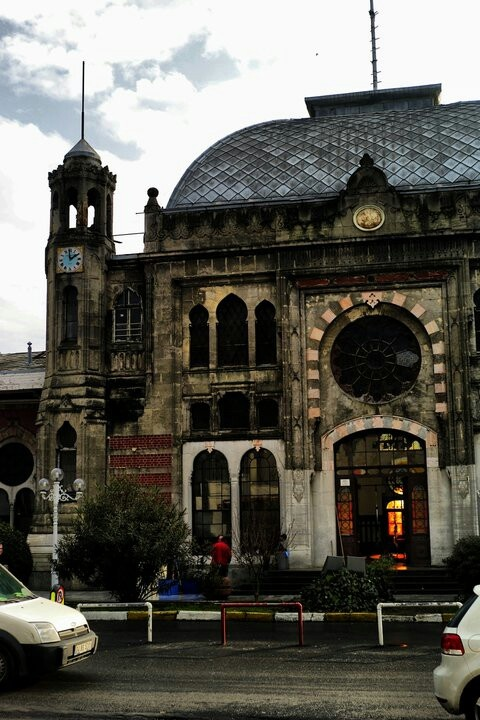 Sirkeci Train Station Istanbul Turkey